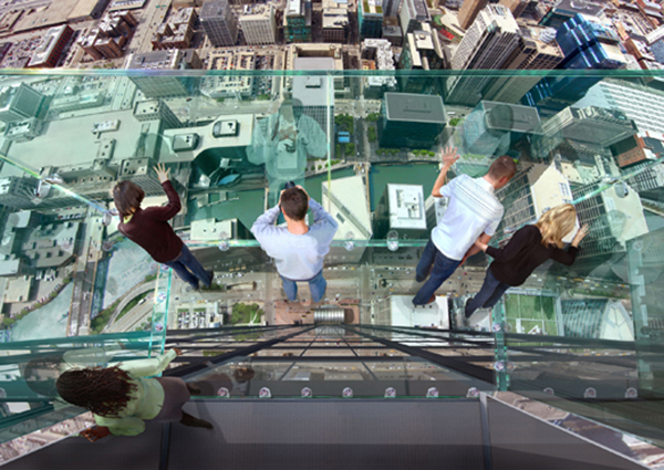 Heart-stopping new attraction at Sears Tower